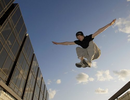 Parkour and Edinburgh